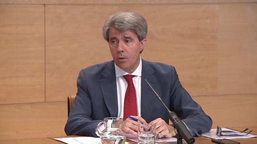 El consejero de Transportes, Ángel Garrido.