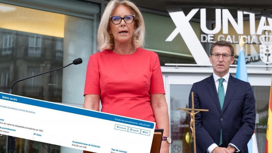 Toma de posesión de Corina Porro como delegada de la Xunta en Vigo
