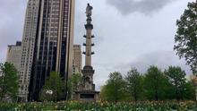 Registran como lugar histórico nacional la estatua de Colón en Nueva York