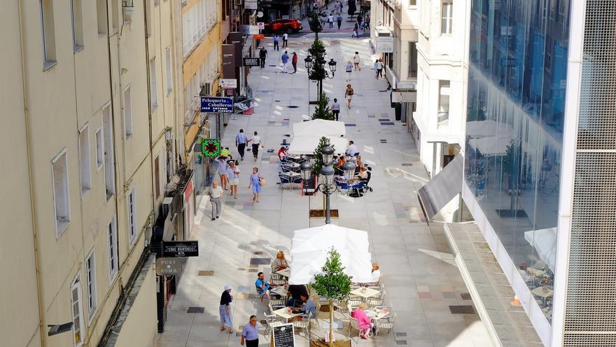 Concluida la renovación de la calle Miguel Artigas