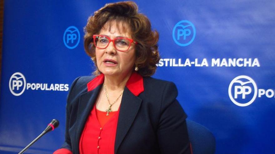 La portavoz del PP de Castilla-La Mancha, Carmen Riolobos / Europa Press