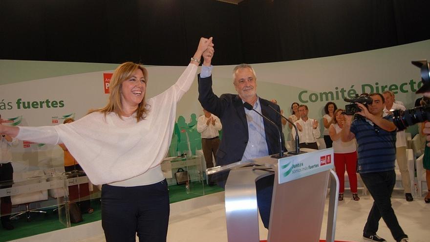 """El PP asegura en un argumentario interno que Susana Díaz es """"ahijada de la corrupción"""""""