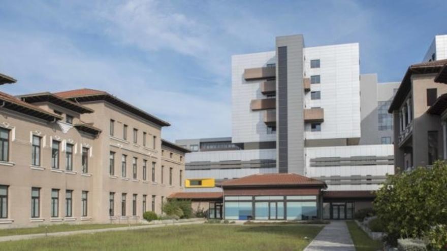 Hospital Universitario Marqués de Valdecilla en Santander.