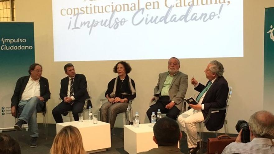 """Impulso Ciudadano se presenta en Madrid denunciando la """"deslealtad constitucional"""" del nacionalismo catalán"""