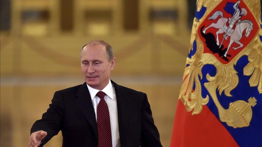 La agencia TASS alaba logros de Putin a los 15 años de su llegada al poder