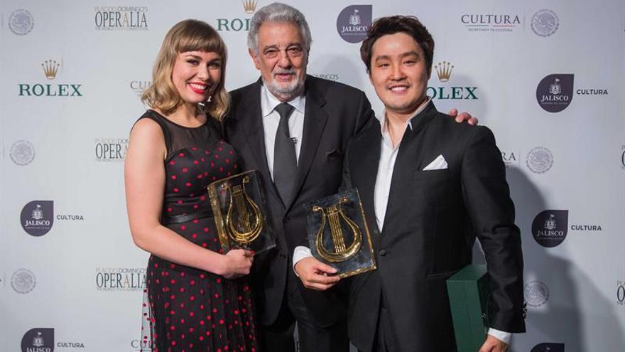 La francesa Elsa Dreisig y el surcoreano Keon-Woo Kim ganan el Operalia 2016