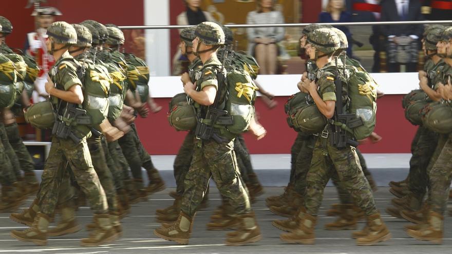ERC pide en el Congreso suprimir los desfiles y pregunta al Gobierno por el coste de la parada militar del 12 de octubre