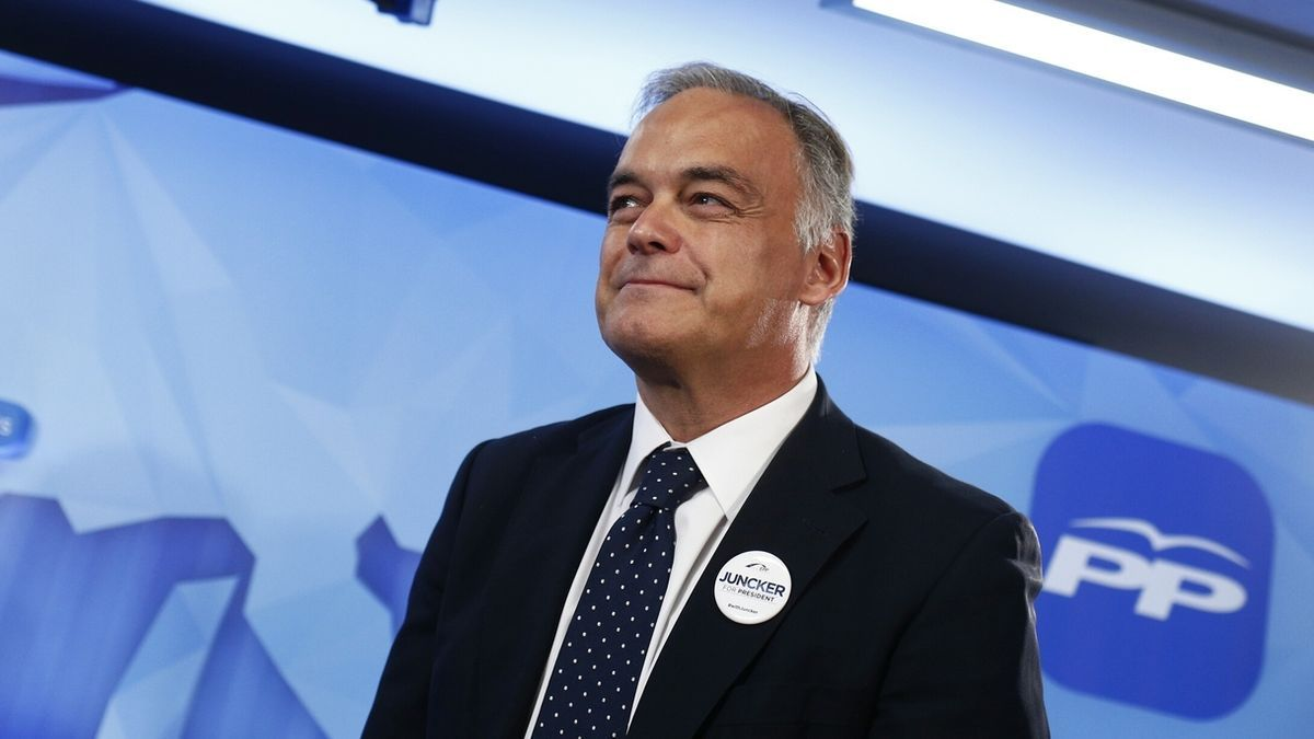 El eurodiputado Esteban González Pons.