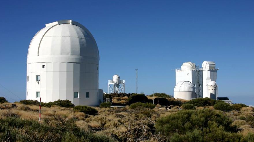 El telescopio OGS (Observatorio del Teide) es utilizado para catalogar restos de basura espacial