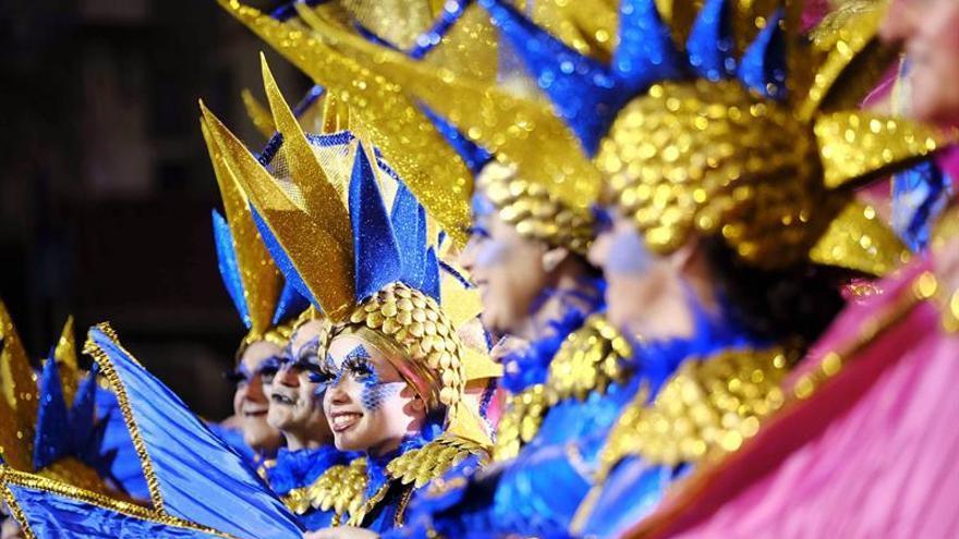 Actuación en la gala Drag de Las Palmas de Gran Canaria