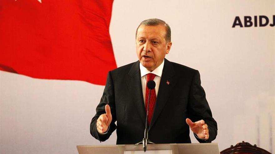 """Erdogan promete """"limpiar"""" el norte de Siria de yihadistas del Estado Islámico"""