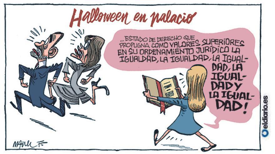 Halloween en palacio