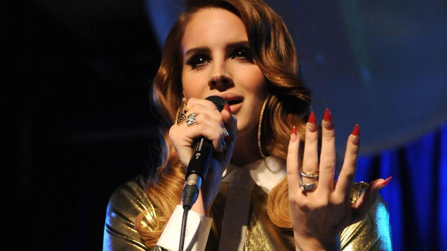 La cantante estadounidense Lana del Rey