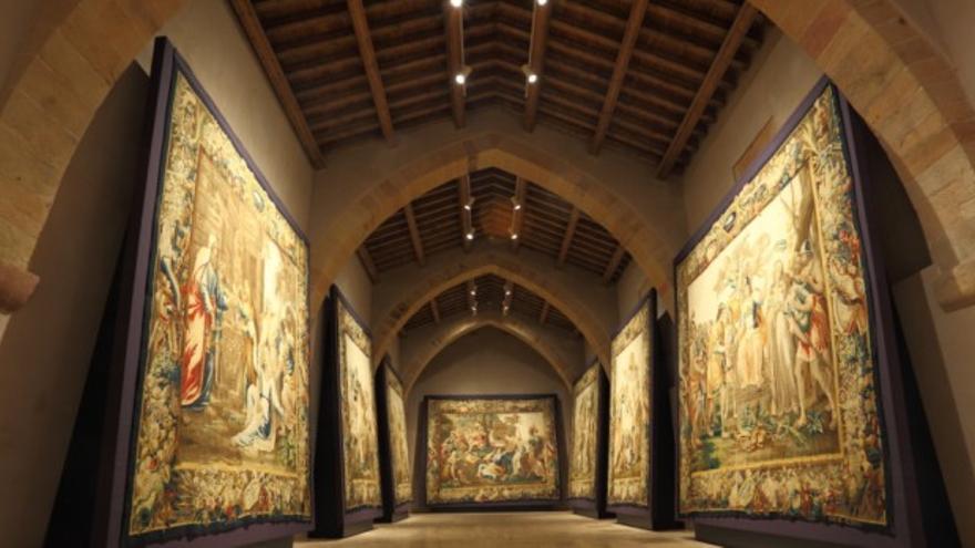 Exposición de tapices flamencos en 'A Tempora' / turismoensiguenza.com
