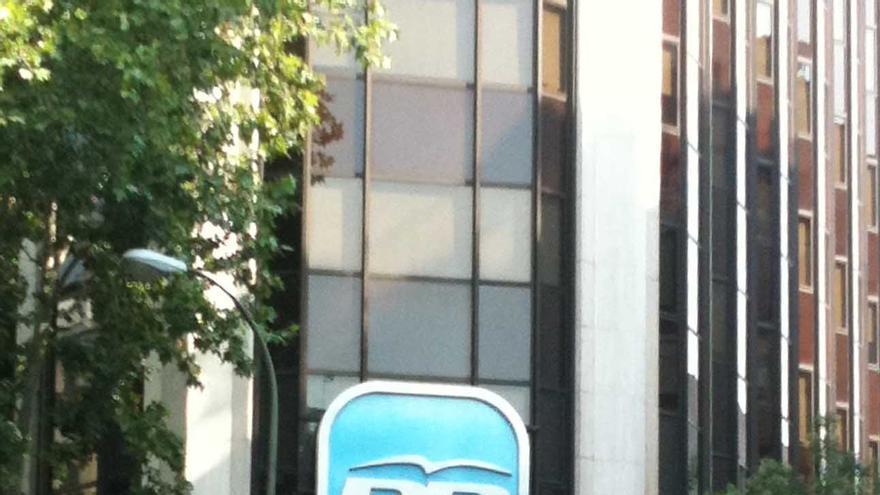 Sede central del Partido Popular en Madrid.