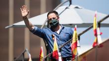 """Abascal defiende a Trump frente a los manifestantes que quieren """"imponer una primavera de la ira"""""""