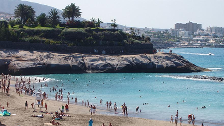 Playa del Duque, en el muncipio tinerfeño de Adeje.