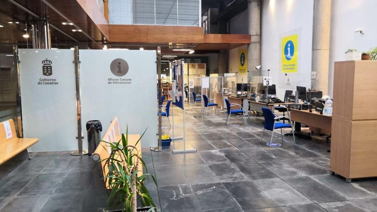 Edificio de Usos Múltiples del Gobierno de Canarias en la capital grancanaria.
