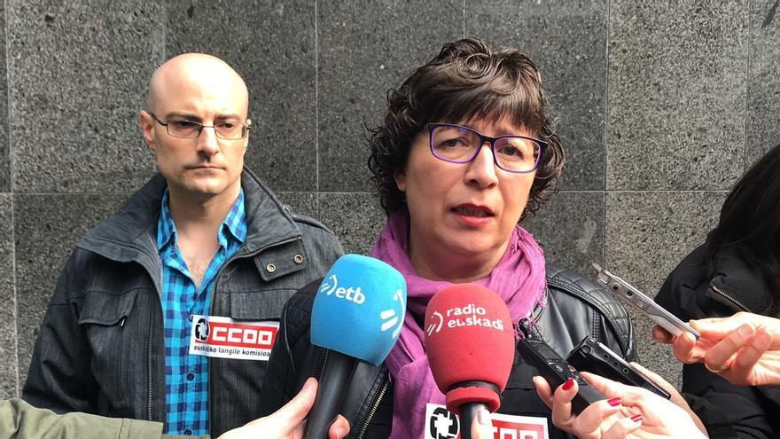 """CCOO dice a los pensionistas que deben decidir si """"representan a toda la sociedad o son muleta social"""" de ELA y LAB"""