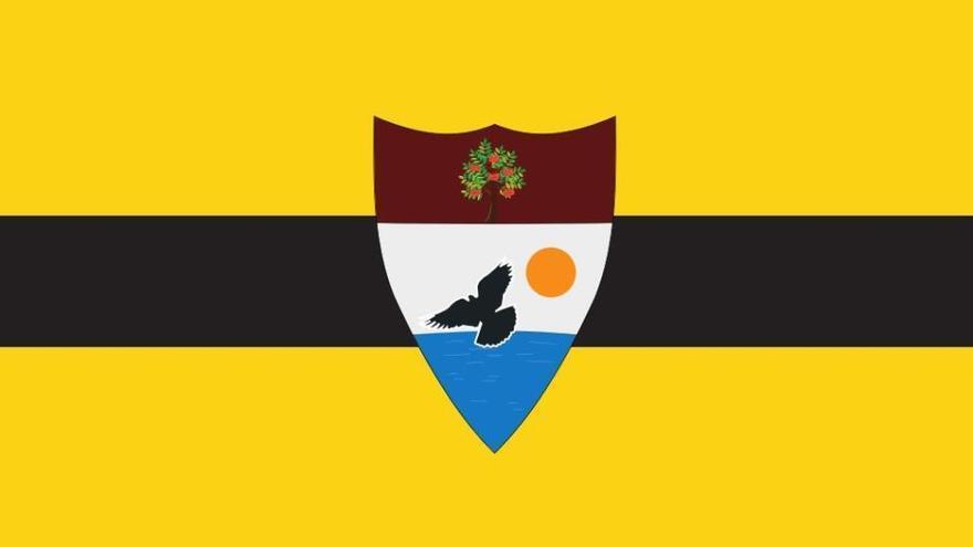 La bandera de Liberland