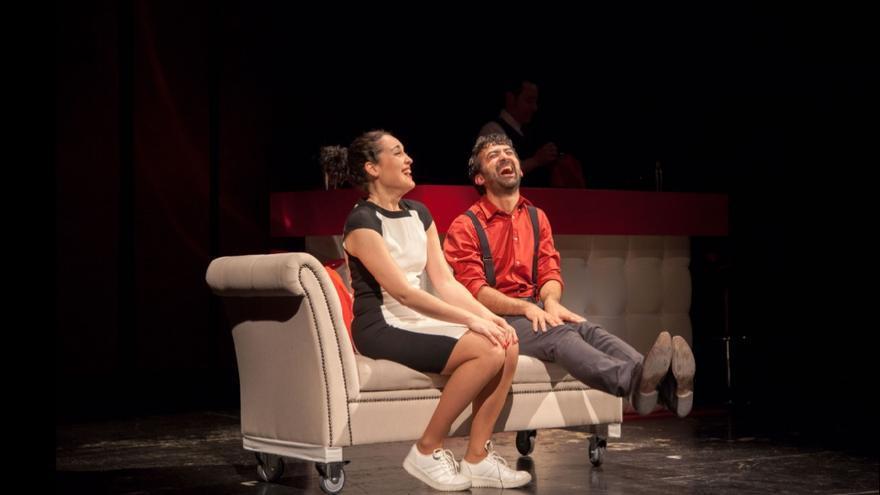 Escena de la obra 'No es tan fácil' | PABLO CEBALLOS