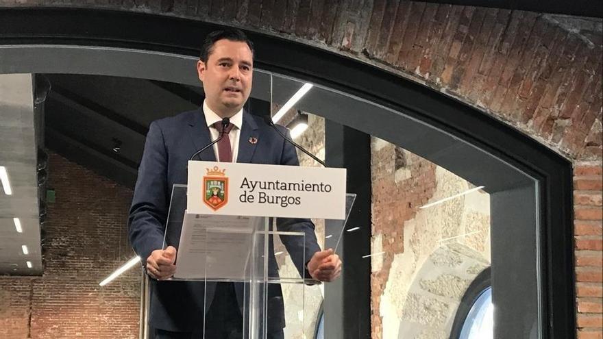 El alcalde de Burgos, el socialista Daniel de la Rosa.