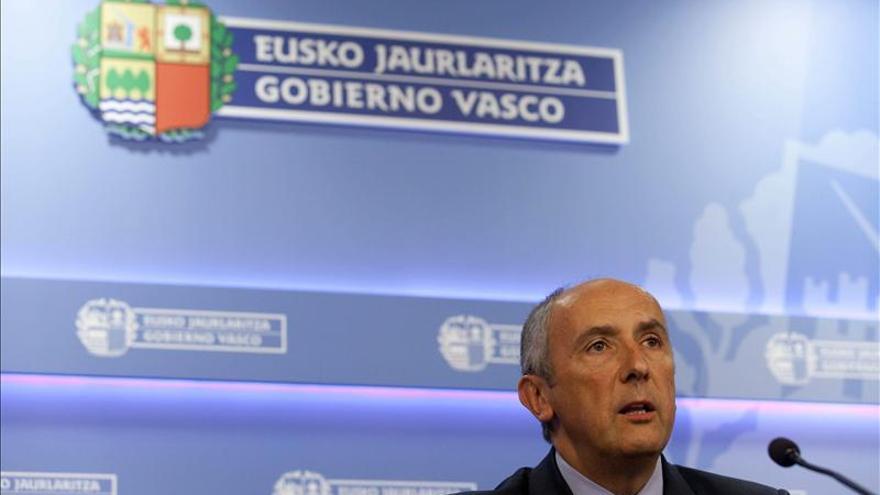"""El Gobierno Vasco denuncia la """"burda orientación mediática"""" de la operación policial"""