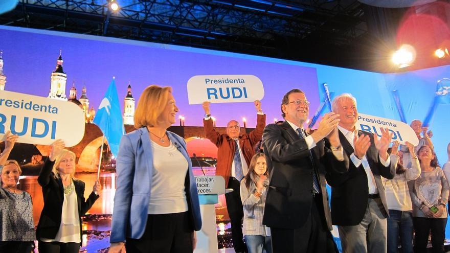"""Rajoy pide al PP contar a la gente lo que está """"en juego"""" porque tienen que ganar """"con todos los votos"""""""