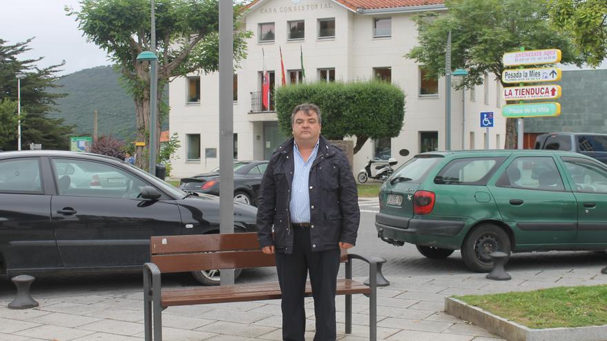 El nuevo alcalde de Noja, Miguel Ángel Ruiz.