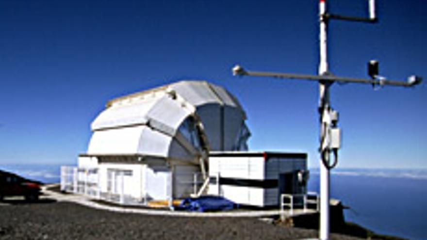 telescopio robótico Liverpool, en el Observatorio de Astrofísica del Roque de Los Muchachos (Garafía, La Palma).