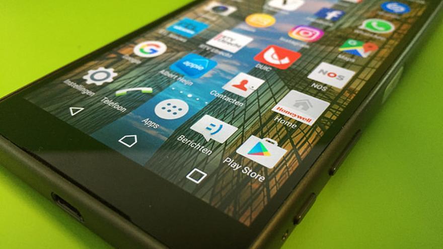 Algunas apps en un smartphone