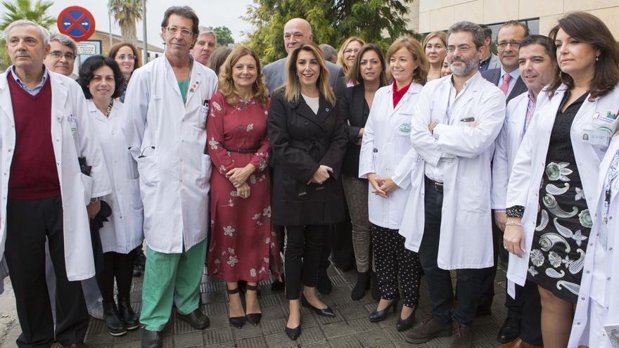 Susana Díaz anuncia la incorporación paulatina de los adultos al sistema Flash para diabéticos
