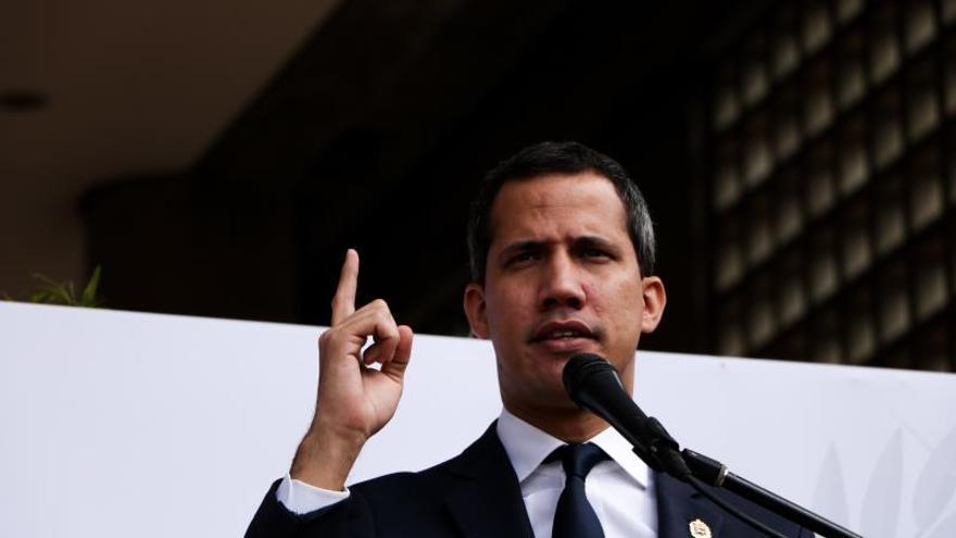 Juan Guaidó llama a una protesta en toda Venezuela para el 16 de noviembre