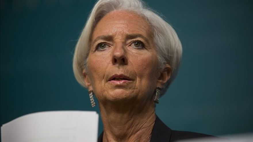 La directora del FMI, Christine Lagarde. \ Efe