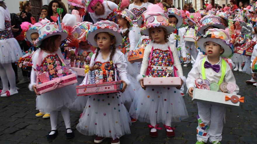 Los niños han protagonizado el Carnaval este jueves.