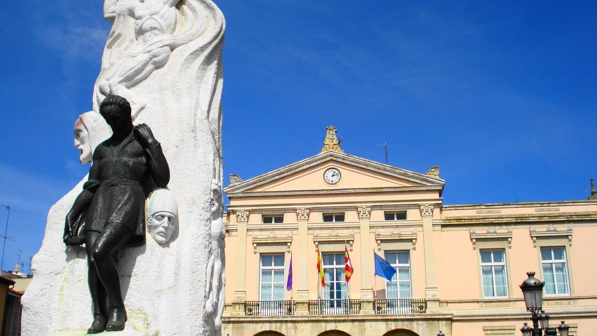 Plaza Mayor de Palencia en una imagen de archivo.