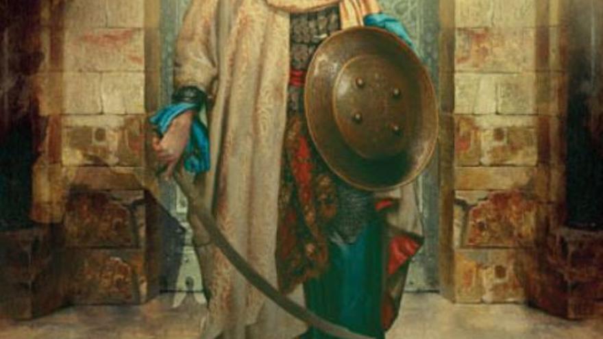 Omar ibn Hafsún en la portada del libro de Bernabé Mohedano