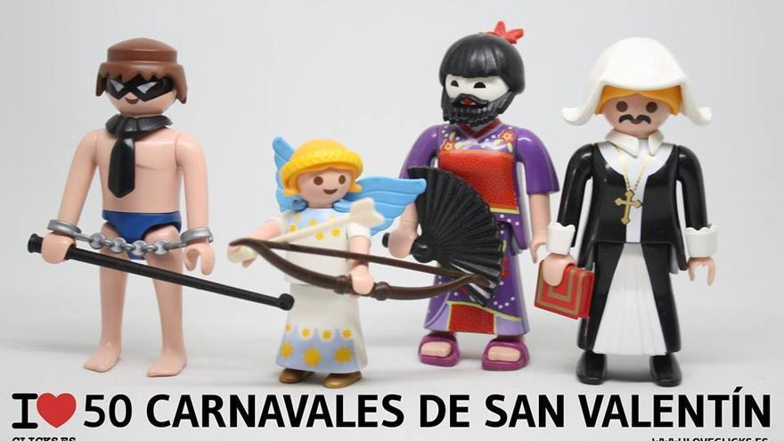 I love Carnaval de San Valentín