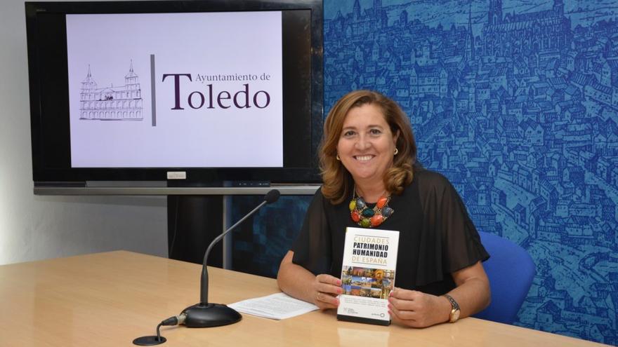 La concejal de Turismo, Rosana Rodríguez. FOTO: Ayuntamiento de Toledo