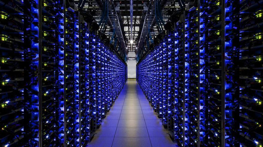 Los servidores de ©Google, que también guardarán los datos de pago de Google Wallet.