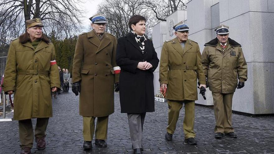 Polonia honra a los soldados que lucharon contra el comunismo tras la Guerra Mundial