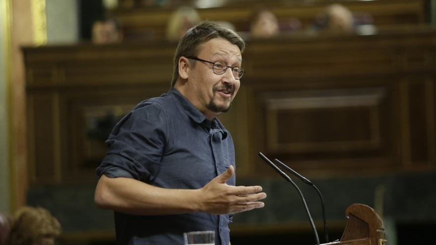 """Domènech pide la liberación de los exconsejeros catalanes para dar unas """"mínimas garantías"""" a las elecciones"""