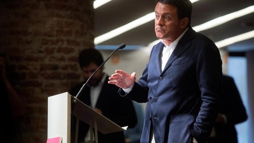 Valls registra su partido para poder concurrir a las elecciones a la Generalitat