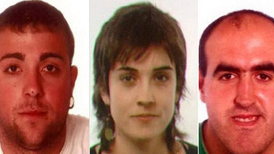 Santesteban Arizkuren, Gogenola Goitia y Martínez Lakunza (Segi)