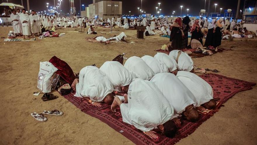 Los ritos de la peregrinación en La Meca se desarrollan sin incidentes
