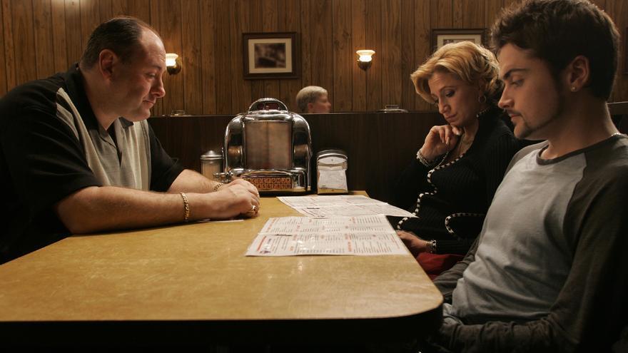La última de cena de familia Soprano.