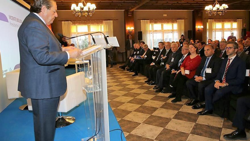 Vicente Boluda, presidente de AVE, interviene en el chequeo semestral de #QuieroCorredor en Sax