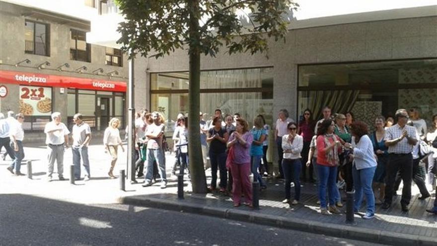 De protestas de funcionarios en LPGC #11