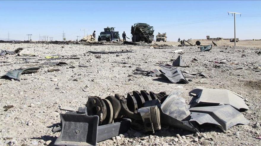 Al menos 76 talibanes muertos y 30 heridos en una ofensiva en Afganistán