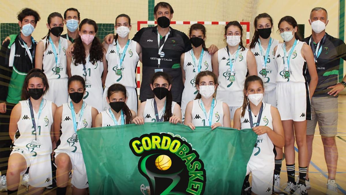 Cordobasket, campeón de Andalucía infantil femenino